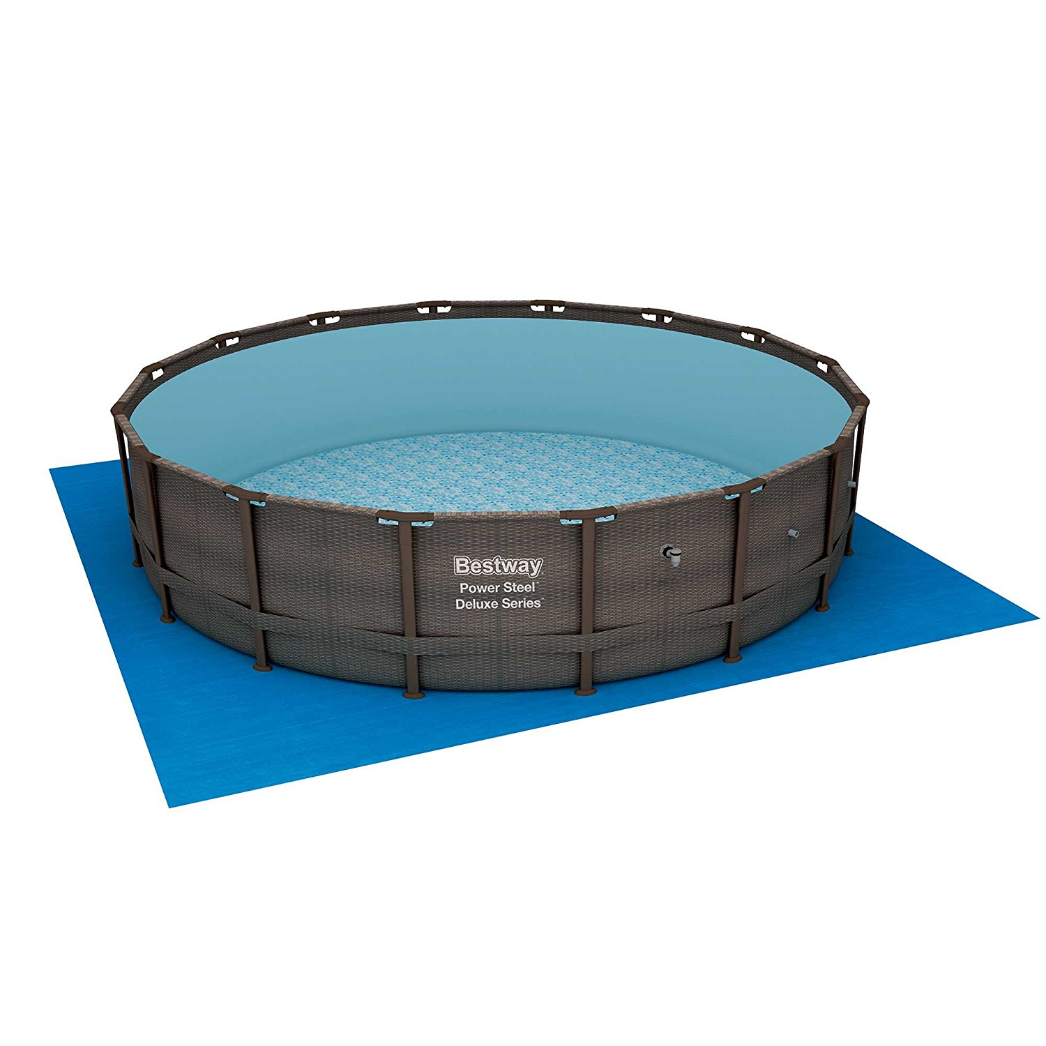 Bestway 14 x 42 power steel frame above ground swimming - Bestway steel frame swimming pool ...
