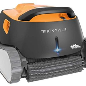 Dolphin Triton Plus Robotic Pool Cleaner with PowerStream and Bluetooth