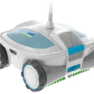 Aquabot ABREEZ4 X Large Breeze with Scrubbers Robotic Pool Cleaner for Above Ground and In Ground Pools