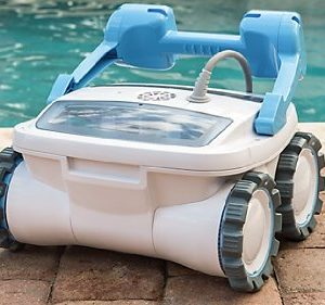 Aquabot ABREEZ4WD Breeze 4WD Robotic Pool Cleaner for In Ground Pools up to 60 Feet