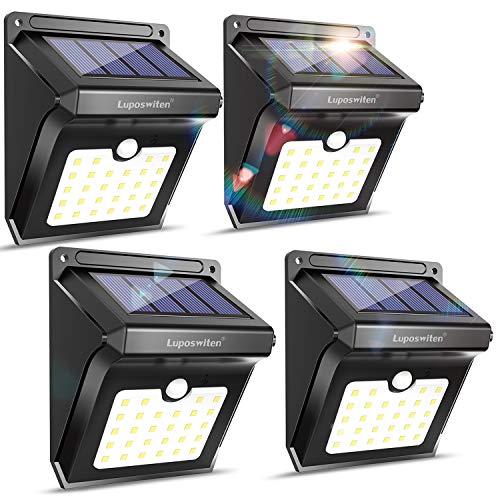 28 Leds Solar Lights Outdoor Motion Sensor Wireless