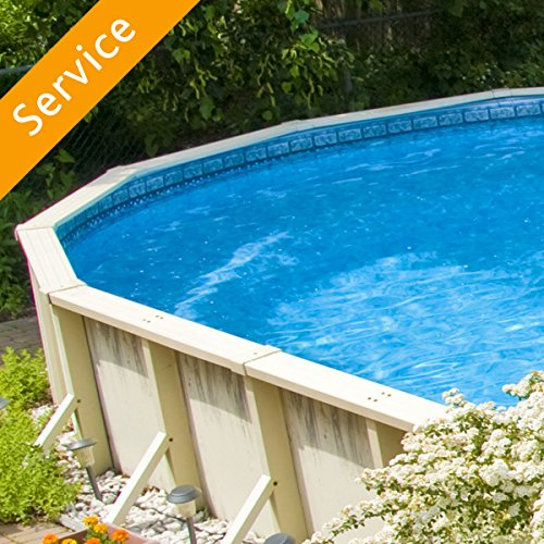Above Ground Swimming Pool Assembly - Up to 15 Feet