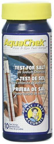 AquaChek 561140A Salt Water Swimming Pool Test Strips - White