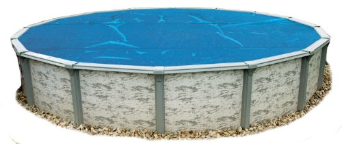 Blue Wave NS105 8-Mil Solar Blanket for Round Above-Ground Pools  15' x 15' x 0 5  H  Blue