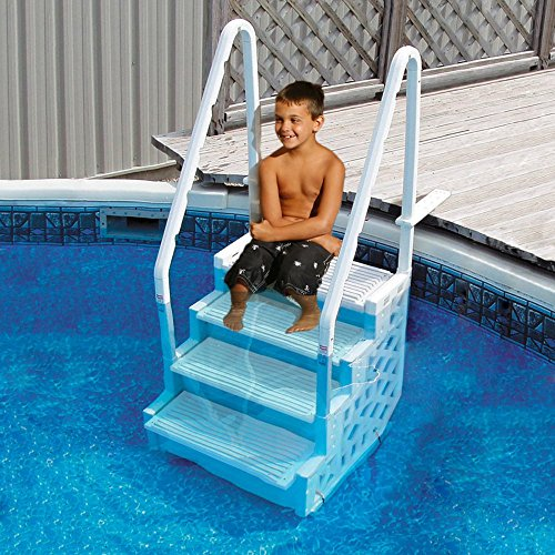 Blue Wave Simple Step 32 5 in  Step for Above Ground Pools
