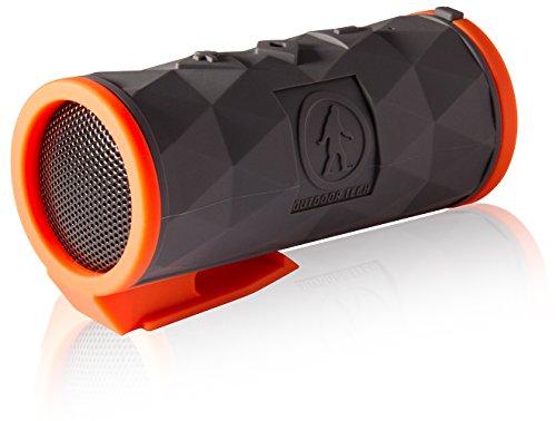 Bluetooth Speaker - Outdoor Tech Buckshot 2 0 Rugged Waterproof Super-Portable Wireless Speaker - Gray - Bluetooth Range up to 60 Feet - 20 Hour Playtime - Built-in Clip (Certified Refurbished)