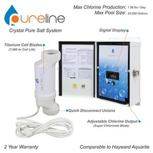 Crystal Pure Pool Salt System (20 000 gallons)