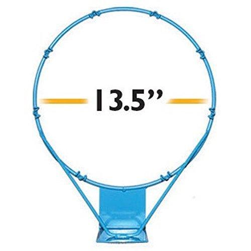 Dunnrite PoolSport Stainless Steel 13 5  Replacement Basketball Rim Light Blue
