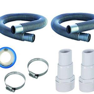 Fibropool 1 1 4  Swimming Pool Filter Hose Replacement Kit (3 Foot   6 Foot)