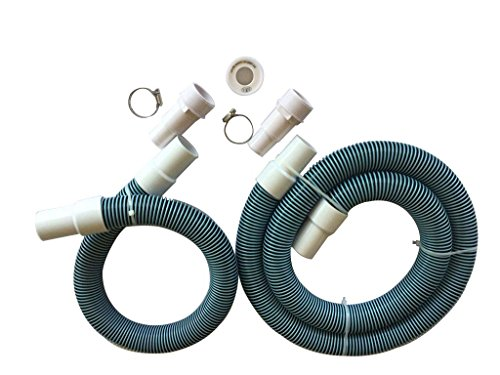 Fibropool Professional 1 1 2  Swimming Pool Filter Hose Replacement Kit (3 Foot   6 Foot)