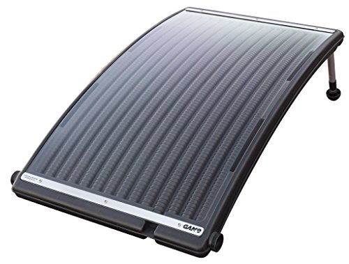 GAME 4721 SolarPRO Curve Solar Pool Heater for Intex   Bestway Above Ground and in Ground Pools (Includes Intex Adapters)