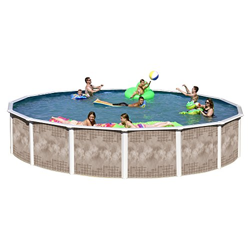 Heritage YO 2452SFP Yosemite Complete Above Ground Pool  24-Feet x 52-Inch