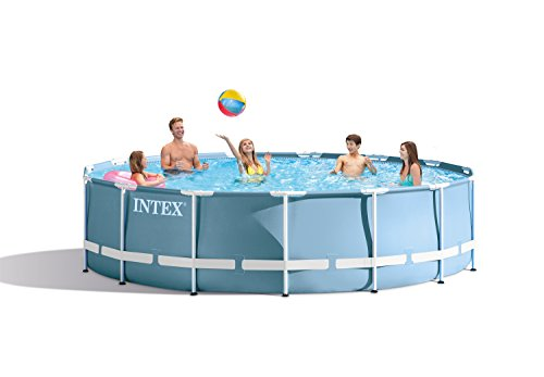 Intex 15' x 33  Prism Frame Above Ground Swimming Pool Set with Pump   28721EH