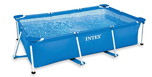 Intex 8 5' x 5 3' x 2 13' Rectangular Frame Above Ground Backyard Swimming Pool