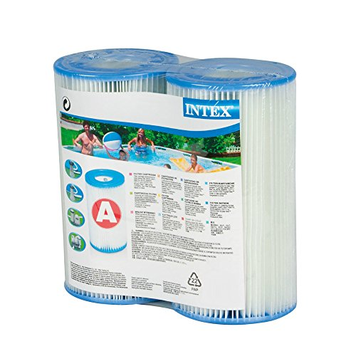 Intex Type A Filter Cartridge for Pools  Twin Pack