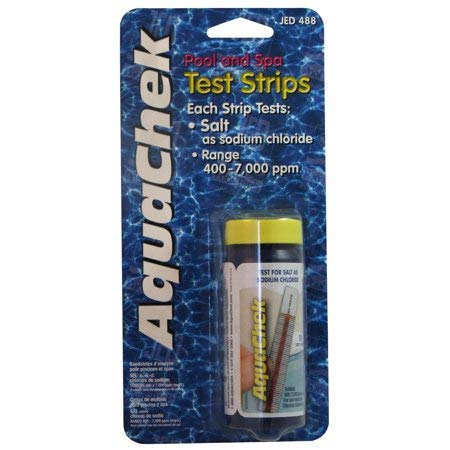 JED Pool Tools 00-AC488 Salt Test Strips 10 Count
