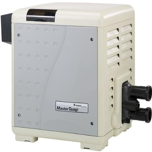 Pentair 460734 MasterTemp High Performance Eco-Friendly Pool Heater  Natural Gas  300 000 BTU