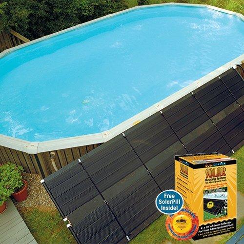 SmartPool WWS421P Sunheater Solar Pool Heater for Above Ground Pools