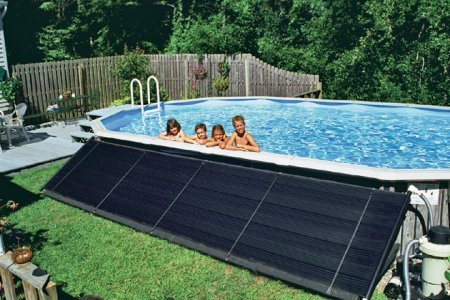Sun2Solar Ground Mounted Heating Solar Panel System for Above Ground   Inground Swimming Pools   Hardware Included   4-Foot-by-20-Foot