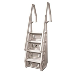 Vinyl Works Deluxe Above Ground In-Pool Step Ladder - 24 Inch