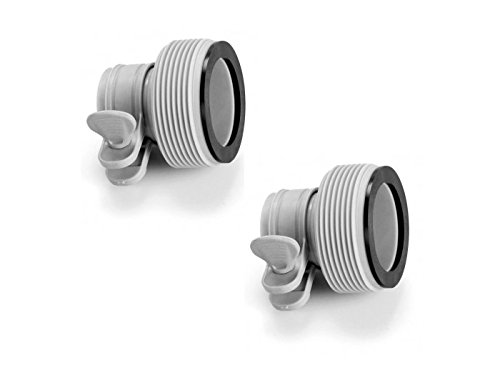 INTEX 1 25  to 1 5  Type B Hose Adapters for Pumps   Saltwater System   Set of 2