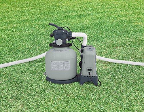 Intex Krystal Clear 1500 Gph Sand Filter Pump Saltwater